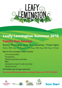 Leafy Lemington Summer 2016