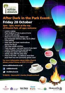 Come along from 3pm - 5pm Join in all the fun activities at the top of Elswick park.